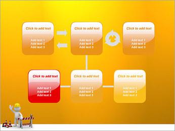 Under Construction & Trabalhador Modelos de apresentações PowerPoint - Slide 23