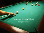 Billiard Game PowerPoint Templates
