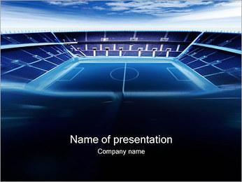 Stadium PowerPoint presentationsmallar