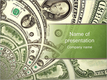 American Dollars PowerPoint Template