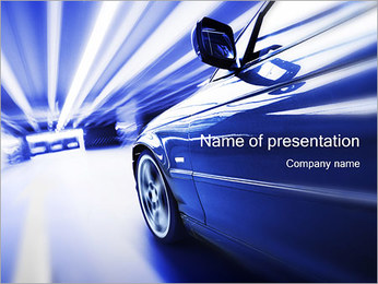 Tunnel PowerPoint presentationsmallar