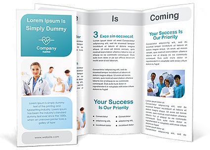healthcare medical brochure templates designs for download