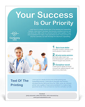 healthcare medical flyer templates and designs for download