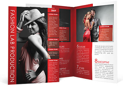 Fashion Brochure Template & Design Id 0000000908 - Smiletemplates.Com