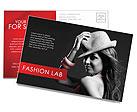 Мода Почтовые открытки