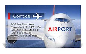 Aeroporto I biglietti da visita