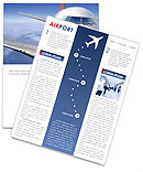 Airport Newsletter Template