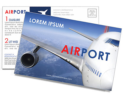 Aeropuerto Tarjetas Postale