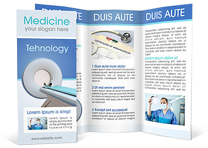 Science Brochure Templates Designs For Download Smiletemplates
