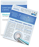 Modern Medical Newsletter Template