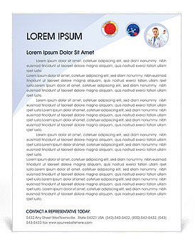 Medical Concepts Letterhead Template
