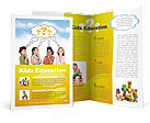 Children Thinks Brochure Template