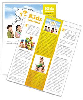 Children Thinks Newsletter Template