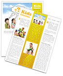 Children Thinks Newsletter Templates