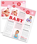 Baby Newsletter Template