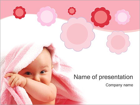 Baby Powerpoint Template Backgrounds Google Slides Id