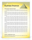 Finance & Money Letterhead Template