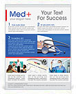 Stethoscope & Medicine Book Flyer Template