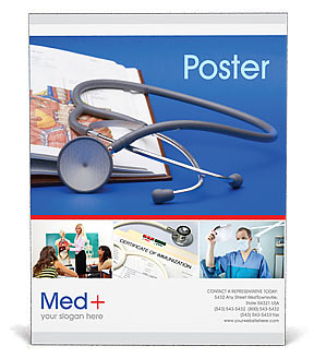 healthcare medical poster templates designs for download