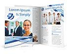 Businesswoman Brochure Templates