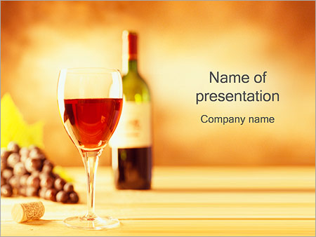 glass of red wine powerpoint template backgrounds google slides