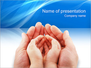 Caring for Child PowerPoint Template
