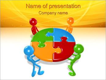 Equipe bem sucedida Modelos de apresentações PowerPoint - Slide 1