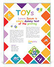 Toys Flyer Template