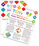 Toys Newsletter Template