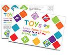 Toys Postcard Template