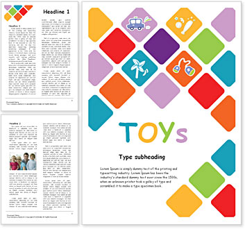 Toys Word Template Amp Design Id 0000000935 Smiletemplates Com
