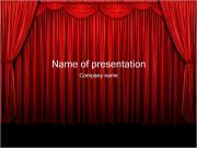 Kurtyna Szablony prezentacji PowerPoint