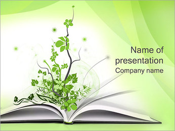 Green Book PowerPoint Template