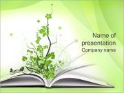 Green Book Sjablonen PowerPoint presentaties