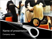 Hairdressing Saloon PowerPoint Templates
