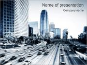 Stad Highway PowerPoint presentationsmallar
