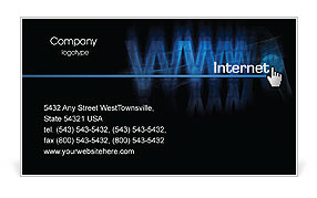 WWW Business Card Template