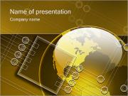 Глобальные Электроника Шаблоны презентаций PowerPoint