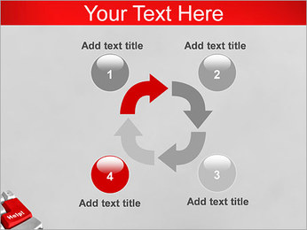 Help Button PowerPoint Template - Slide 14