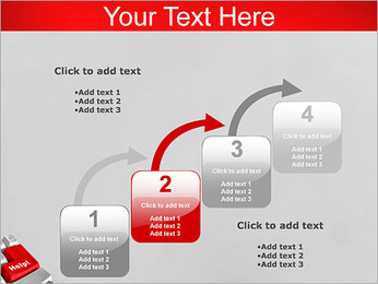Help Button PowerPoint Template - Slide 20