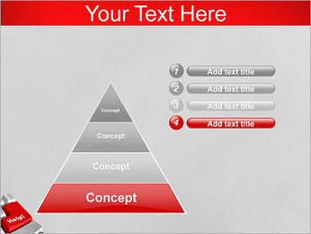 Help Button PowerPoint Template - Slide 22