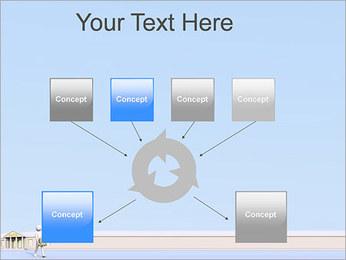 Tirar dinheiro do Banco Modelos de apresentações PowerPoint - Slide 10