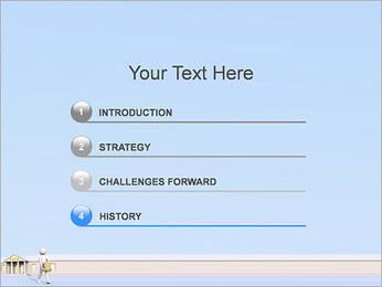 Tirar dinheiro do Banco Modelos de apresentações PowerPoint - Slide 3
