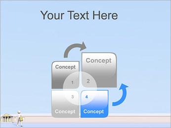 Tirar dinheiro do Banco Modelos de apresentações PowerPoint - Slide 5