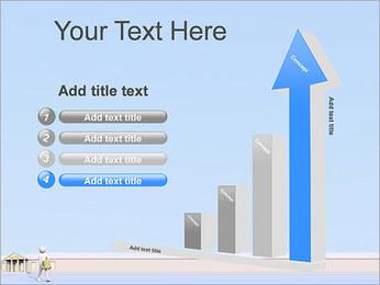 Tirar dinheiro do Banco Modelos de apresentações PowerPoint - Slide 6