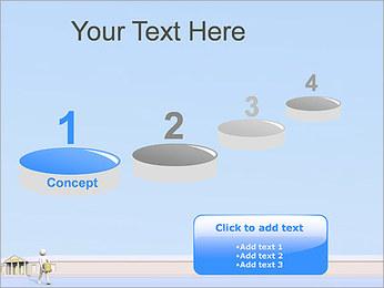 Tirar dinheiro do Banco Modelos de apresentações PowerPoint - Slide 7