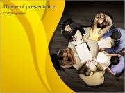 Business Meeting Sjablonen PowerPoint presentaties