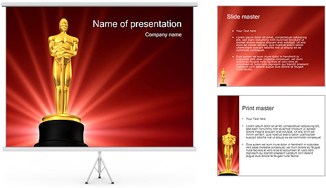 Powerpoint Award Template. employee of the month template for ...