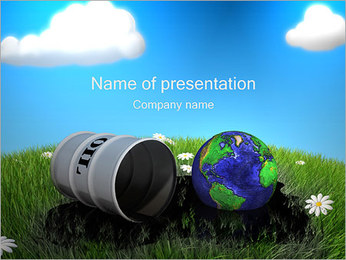 Oil Catastrophe PowerPoint Template