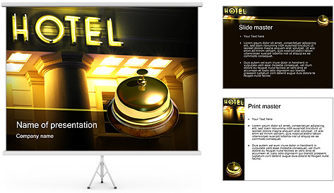 Hotel Service PowerPoint Template